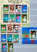 KOREA 1980 1976-83 + Klb Block 71 Welttag Rotes Kreuz Red Cross Dunant MNH