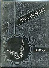 Holland High School Texas 1-12 ORIGINAL 1955 yearbook history genealogy Bell Co