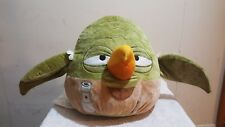 "Angry Birds Star Wars Yoda Plush Pillow Stuffed Animal Toy 12"" x 12"" Large"