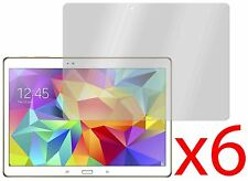 "6 Protectores de pantalla Hellfire Trading para Samsung Galaxy Tab S 10.5"" T800"