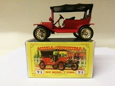 Matchbox Models Of Yesteryear Y1 1911 Model T Ford