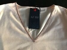 ARMANI JEANS long sleeve women's T-shirt top, 6X5T03, RRP £85 BNWT size 48/16