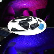 Car Ceiling Star Light LED Atmosphere Projector Armrest Box Galaxy Lamp Bright