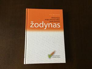 Lietuviu-Anglu teises zodynas V Bitinaite  Lith/Eng Court terms Dictionary book