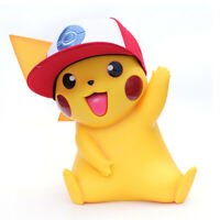 Pokemon Pikachu 1/1 Scale Life Size Figure with Hat (40cm tall)