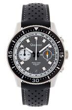 Gigandet Speed Timmer Herrenuhr Chronograph Datum Edelstahl Grau Weiß G7-003
