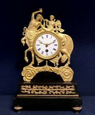"Pendule Empire ""Au Centaure"" en bronze doré (French ormolu Clock)"