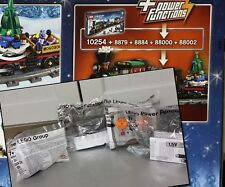 LEGO Power Functions 8879 8884 88000 88002 per treno di NATALE 10254, completo