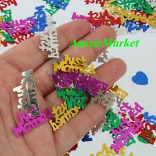 20 grams foil confetti wedding party decoration just married table scatter decor