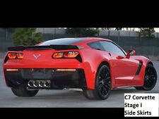 C7 Corvette Stage 1 Carbon Fiber Z06 Side Skirts