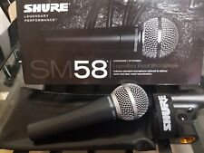 Shure SM58 Dynamic Vocal Microphone with clip and case (BRAND NEW)