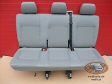 Bench rear triple seat VW T5 Transporter leatherette Artificial leather
