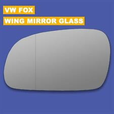 For VW Fox wing mirror glass 03-11 Left Passenger side Aspherical Blind Spot
