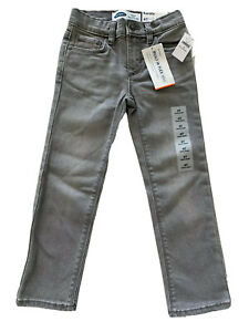 Old Navy NEW Toddler Boys Karate Skinny Gray Jeans 4T