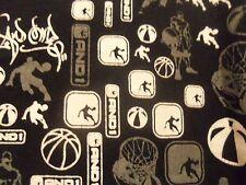 Basketball ANDI black graphic L t shirt