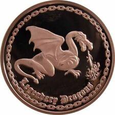 1 oz Copper Round - Dragon