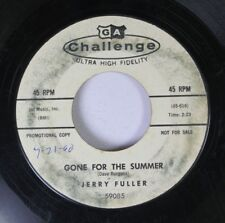 Rock Promo 45 Jerry Fuller - Gone For The Summer / Anna From Lousiana On Ga Chal