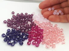 Swarovski 5000 SALE Pink / Purple Mix 6mm rounds lot 180 beads (barg62)