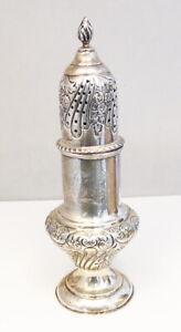 Antique London England Sterling Silver .925 Matthew John Jessop Sugar Shaker
