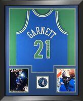 Kevin Garnett Signed Timberwolves Mitchell Ness Swingman Framed Jersey Fanatics
