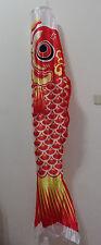 Japanese KOINOBORI 150cm / 59 inches Red Children's Day Carp Streamer