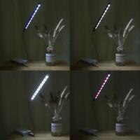 Bright 10 LED USB Light Flexible Computer Keyboard Lamp Laptop PC Desk Reading