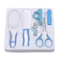 Newborn Baby Nail Care Cutter Scissors Clipper Manicure Pedicure Kit Gift MA