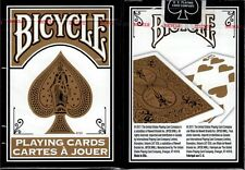 Fashion Gold & Black Bicycle Playing Cards Poker Size Deck USPCC Custom Limited