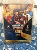 MATCH ATTAX 101 2019/20 FULL SET OF ALL 128 BASE CARDS IN BINDER