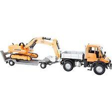 """Small Foot 8592 """"mercedes BENZ Unimog and Digger"""" Model Car"""