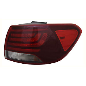 TYC NSF Right Side  Halogen Tail Light Lamp Assembly for Kia Soul 2014-2015