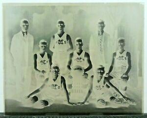 Very Rare Vintage 8x10 Basketball Glass Negative 1920-1921