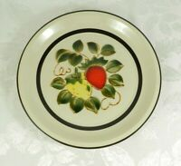 "Vtg 1970's Sears Strawberries Stoneware 12"" Round Platter Chop Plate Japan 4112"
