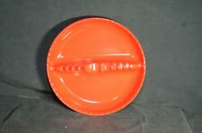 Vintage Red Plastic Willert Home Products Ashtray