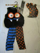 Baby Halloween Spider Costume Outfit  Size 9-12  Months  (NEW)