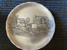 Wendell August Forge Handmade Horse Farm Buggy Amish coaster or dish