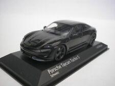 Porsche Taycan Turbo S noire 1/43 Minichamps 410068470