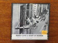 Harold Lloyd The Height of Madness 8mm Short Film
