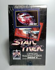 1991 Star Trek Official Trading Cards Series II, TOS TNG, Factory Sealed – Impel