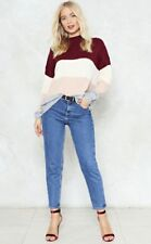 NASTY GAL NEW KID ON THE BLOCK SWEATER JUMPER SOLD OUT. SIZE M BERRY