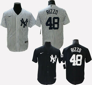 New York Yankees #48 Anthony Rizzo Cool Base Men's Stitched Jersey
