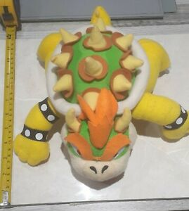 "Nintendo Super Mario Bros Bowser King Koopa Plush Doll Soft Toy 10"" approx."