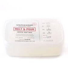 Melt & Pour Soap Clear 1Kg SLS FREE (SOAP1KCLEA)