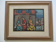 JACOB WEXLER OIL PAINTING GERMAN EXPRESSIONIST PORTRAIT MODERNISM ABSTRACT ART