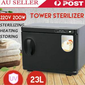 23L Hot Towel Sterilizer Warmer Cabinet Heater Disinfection Salon Beauty Quality