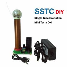 DIY Mini Tesla Coil Kit Music Tesla Coil Plasma Speaker Tesla DC Test SSTC