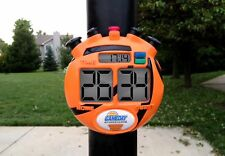 GameDay Basketball Scoreboard for Kids Portable Driveway Basketball Poles by