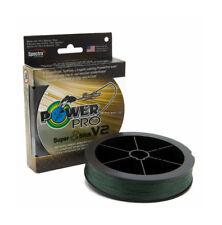 *NEW POWER PRO SUPER SLICK SSV2 BRAID Moss Green 30Lb 300Yd 31500300300E