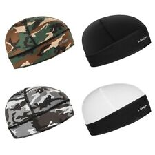 New Halo Headband Skull Cap Breathable Fabric Block Sweat & UV Fits Under Helmet