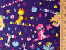 My little ponies Stars and Rainbows Toss 100% cotton fabric by the yard